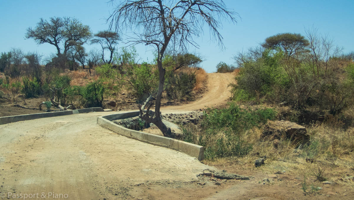 An image of the Tshepe Drive one of the more challenging sand roads in Pilanesberg